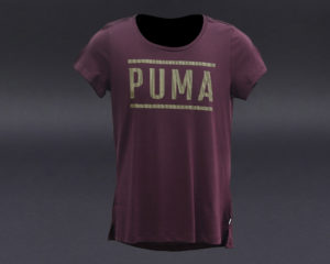 PUMA ATHLETIC TEE FIG-BRONZEMEDAL