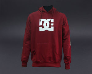DC STAR PULL OVER HOOD