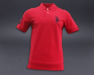 US POLO UGPM1017-RED